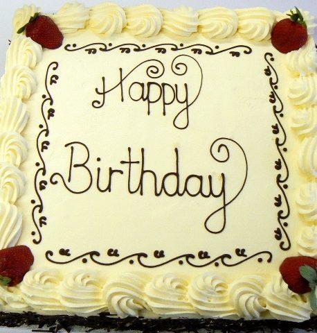 Birthday Cake 12 Inch SugarBake UK